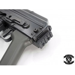 Hephaestus 20mm Railed Stock Adapter for GHK / LCT AK with Side-Folding Stock