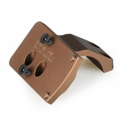 Reptilia Style Offset RMR Mount for Geiselle Style Offset Scope Mount (Black / Dark Earth)