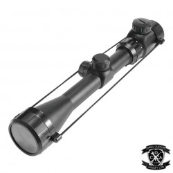 3-9X40 Illuminated Reticle Rifle Scope With High 20mm Mounts