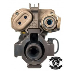 LEAF Style 20mm Mounted Front Sight For use With LA-5 PEQ / PEQ 15 Box (Black / DE)