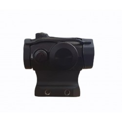 Romeo-5 Style Red Dot Sight With Daniel Defense Style Mount (Black)