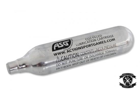 ASG ULTRAAIR - 12g Co2 Capsule (Sold Individually)
