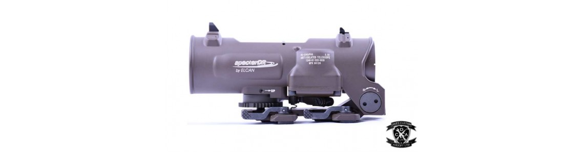 Magnified Rifle Scopes