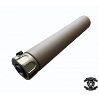 AngryGun SOCOM 762 Tracer Silencer Black / DE (14mm CCW)