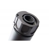 AngryGun SOCOM 556 Tracer Silencer Black / DE (14mm CCW)