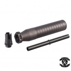 Airsoft Artisan MCX 762Ti Style QD Barrel Extension with 3-Prong Muzzle Brake