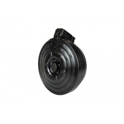 2000BBs steel electric drum magazine for AK type replicac