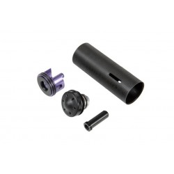 Reinforced Cylinder with Polycarbonate Piston Head Set for G36 Replicas