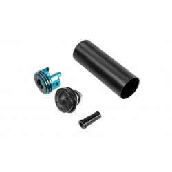 Reinforced Cylinder with Polycarbonate Piston Head Set for M16-A1/VN Replicas