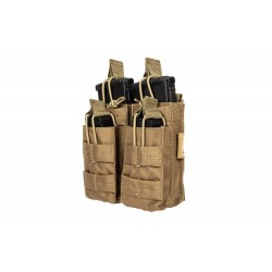 M4/M16 type double magazine pouch - Coyote