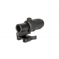 Magnifier 3x with Killflash Cover - Black