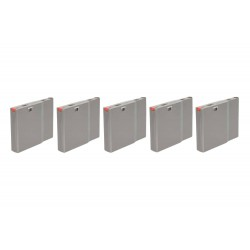 Set of 5 polymer 25 BB magazines for SRS - WG replicas