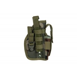 Universal Holster with Magazine Pouch - wz. 93 Woodland Panther
