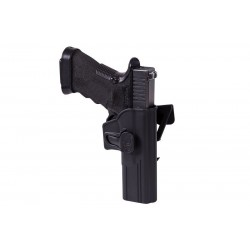 Release Button MOLLE Holster for Glock 17 - black